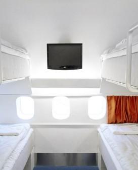 four bed dorm room jumbo stay